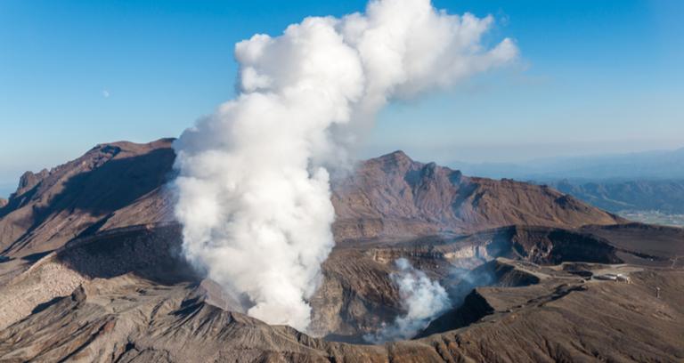 阿蘇山噴火口